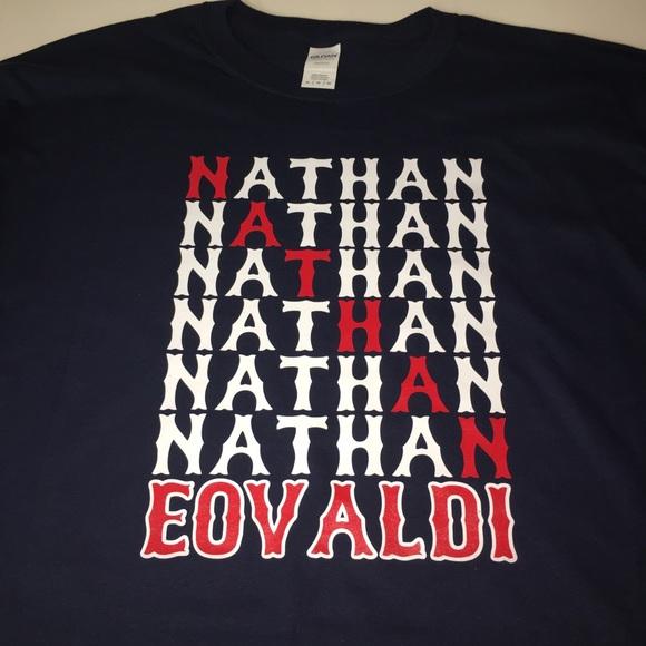 newest 577f6 4aa1a Boston Red Sox Nathan Eovaldi Shirt NWT